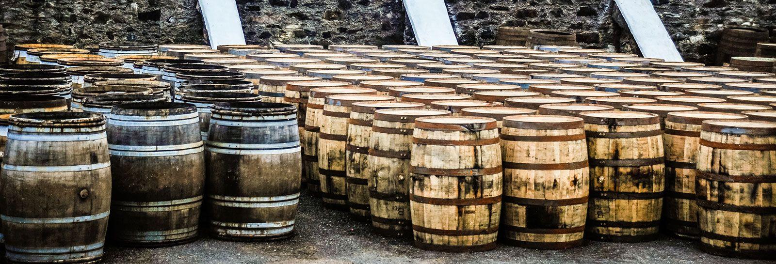 whisky barrels banner image